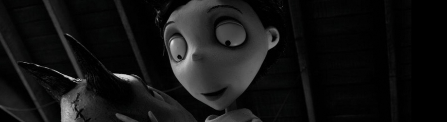 Still from the film Frankenweenie