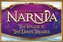 An image of a ship sailing on the sea with the title 'The Chronicles of Narnia: The Voyage of the Dawn Treader'.