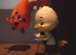 Still from the animated film Chicken Little