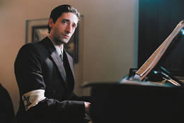 Still of a Jewish man playing the piano