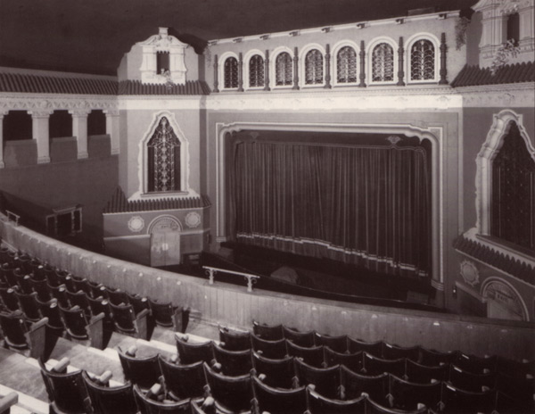 A photo of the Richmond cinema, built in 1929