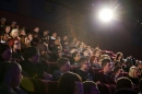 Pupils in a cinema