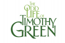 Green text against a white background reads 'The Odd Life of Timothy Green' 