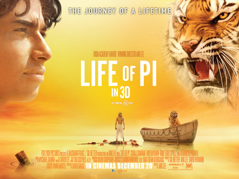Film education resources life of pi religious for Life of pi character development